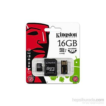 Kingston 16GB Mobilty Kit MicroSD C10 MBLY10G2/16GB