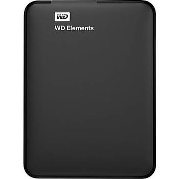 2TB WD ELEMENTS USB 3.0 HARÝCÝ TAÞINABÝLÝR 2.5 DISK WDBU6Y0020BBK
