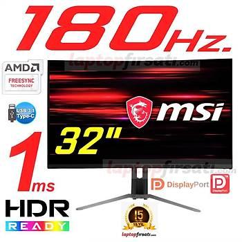 MSI MAG322CR 31.5 180HZ 1ms(HDMI+DP+TypeC)FSync Curved FHD Monitör
