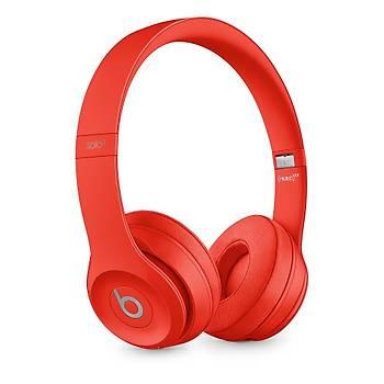 Beats Solo3 Bluetooth Kablosuz Kulaküstü Kulaklýk MP162ZE/A RED