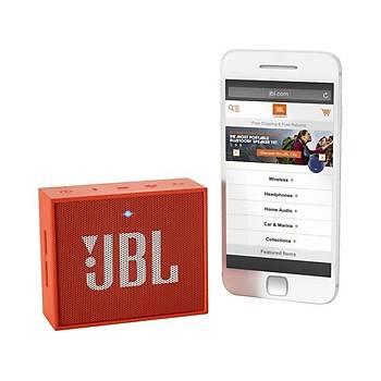 JBL Go Bluetooth Hoparlör Turuncu