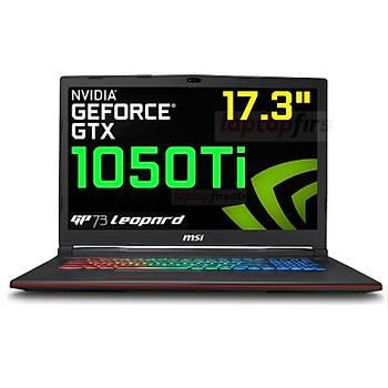 17.3 MSI GP73 LEOPARD 8RD-095XTR 8750H 8GB 1TB+128SSD GTX1050Ti