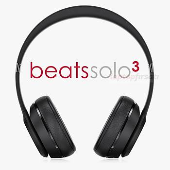 Beats Solo3 Bluetooth Kablosuz Kulaklýk MP582EE/A MAT SÝYAH