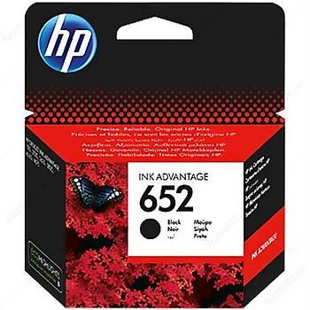 HP 652 Siyah Mürekkep Kartuþu F6V25AE