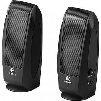 Logitech S120 1+1 StereoSpeaker Siyah 3,5mm 2,2W RMS 980-000010