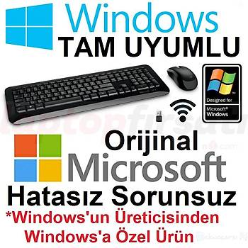 Microsoft Wireless Desktop850 Kablosuz Klavye Mouse Set PY9-00011