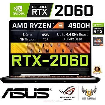 Asus FA506IV-HN304 AMD Ryzen9-4900H 8GB 512SSD RTX2060 FDOS 15.6 FHD