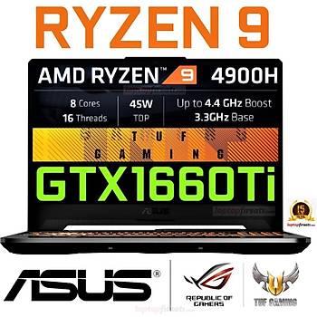 Asus FA506IU-BQ268 AMD RYZEN 9 4900H 16GB 512SSD GTX1660Ti 15.6 DOS