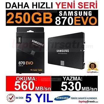 Samsung 870 Evo 250GB 560MB-530MB/s Sata 2.5