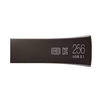 SAMSUNG 300MB/Sn YüksekHızlı 256GB USB3.1BAR+SİYAH MUF-256BE4/APC