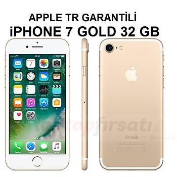 Apple iPhone 7 32GB GOLD MN902TU/A (2 Yýl Apple TR Garantili)