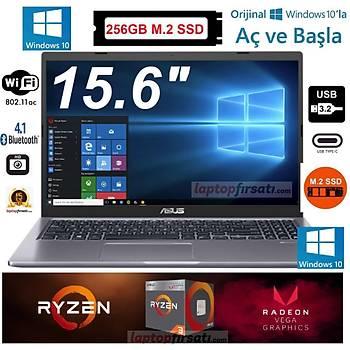 Asus D515DA-BR028T AMD Ryzen 3 3250U 4GB 256GB M.2 SSD Windows 10 Home 15.6