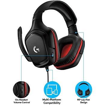 Logitech G332 Oyuncu Kulak Üstü Kulaklýk 981-000757
