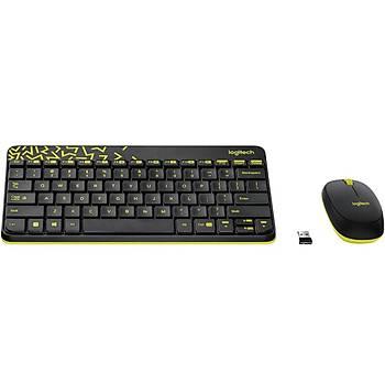 Logitech Mk240 Klavye Set Siyah/Sarý 920-008215