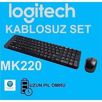 Logitech MK220 Kablosuz Klavye Mouse Set 920-003163