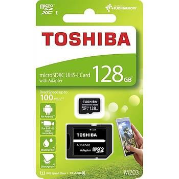 Toshiba 128Gb 100Mb/Sn Microsdxc? Uhs-1 Class10 Excerýa Thn-M203K1280Ea