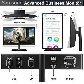 Samsung LS27H650FDMXUF 27'' (DP+HDMI+USB) FHD PIVOT PLS Monitör