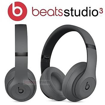 Beats Studio3 Bluetooth Kablosuz Kulaklýk MTQY2EE/A - GRÝ