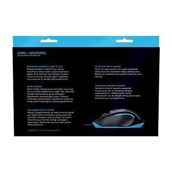 Logitech G300s Oyuncu Mouse+Mousepad+Sticker+Bardak Altlýðý 910-004346