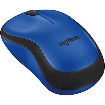 Logitech M220 Kablosuz Silent Sessiz Tıklama Mavi 910-004879
