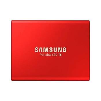 SAMSUNG T5 500GB SSD TAŞINABİLİR HDD MU-PA500R/WW KIRMIZI 3YIL GARANTİLİ