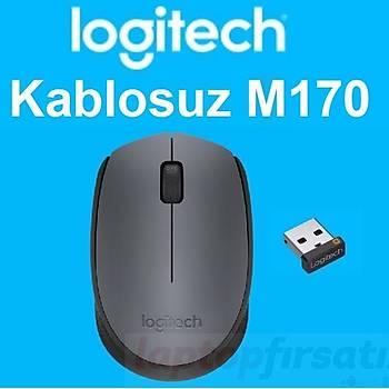 Logitech M170 Kablosuz Nano alýcý Siyah Mouse 910-004642