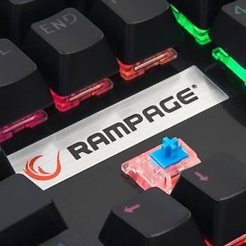 Rampage Mecony R8 Gökkuþaðý Aydýnlatmalý Gamer Klv