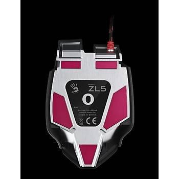 Bloody ZL5A Laser Core3 Makro Aktif Metal Ayak 8200CPI Oyuncu Mouse