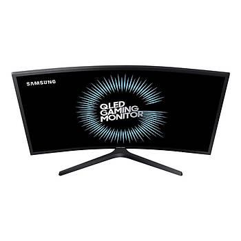 "Samsung QHD Curved QLED LC27HG70QQMXUF 27"" 1ms 144Hz DP+2xHDMI FreeSync2 HDR600 Monitör"
