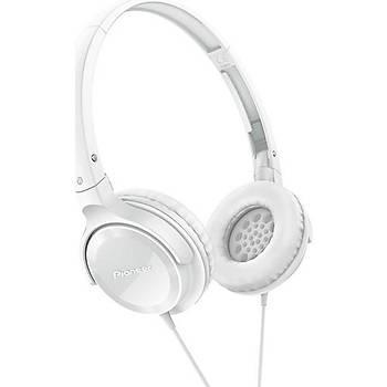 Pioneer SE-MJ502-W Beyaz Kulaküstü Kulaklýk