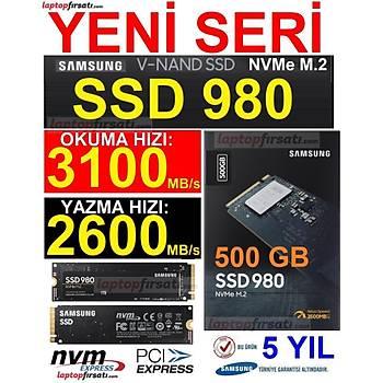 SAMSUNG SSD 980 500GB 3100MB/s-2600MB/s NVMe 1.4 PCIE GEN 3.0 X4 M.2 SSD MZ-V8V500BW