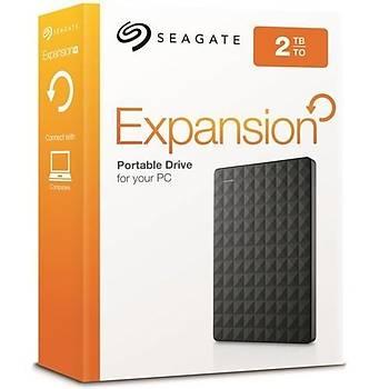 Seagate Expansion 2TB 2.5' USB 3.0 Taþýnabilir Disk STEA2000400