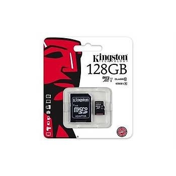 Kingston 128GB MicroSDHC Class10 UHS-I 45MB/s SDC10G2/128GB