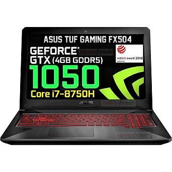AsusTUF FX504G-78050 i7-8750H 8GB 1TB SSHD 4GB.GTX1050 15.6FHD DOS