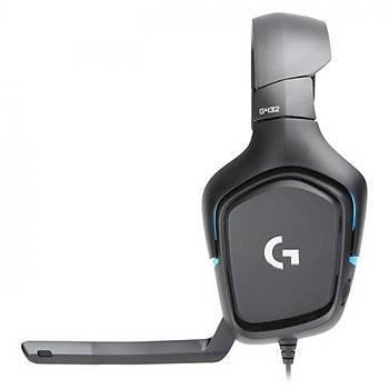 Logitech G432 7.1 Surround Oyuncu Kulaklýk 981-000770