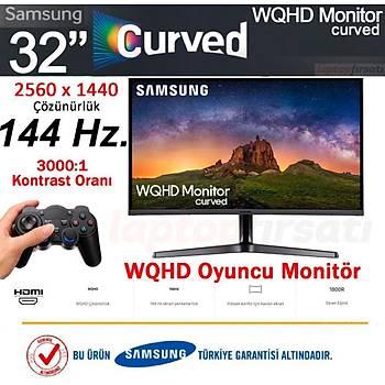 Samsung LC32JG50QQMXUF 32 144Hz 4ms (HDMI+Display) QHD Oyuncu Monitör