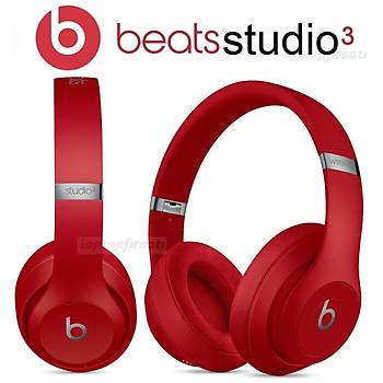 Beats Studio3 Bluetooth Kablosuz Kulaküstü Kulaklýk MQD02EE/A RED