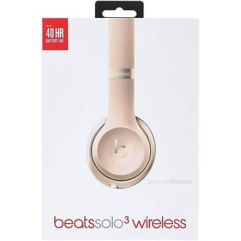 Beats Solo3 Bluetooth Kablosuz Kulaküstü Kulaklýk MNER2ZE/A ALTIN