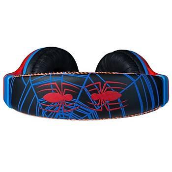 Marvel Spiderman Örümcek Adam Lisanslý Çocuk Kulaklýk MV-1001-ASM-Kýrmýzý