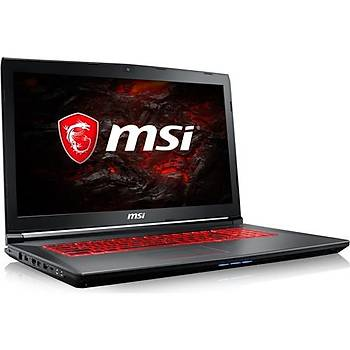 17.3 MSI GV72 7RD-883TR i7-7700HQ 8GB 1TB+128SSD GTX1050 Win10