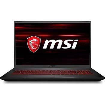 MSI GF75Thin 8RD-202XTR i7-8750H 8GB 1TB+256SSD GTX1050Ti 17.3 DOS