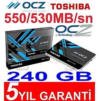 5 YIL GARANTİLİ OCZ TOSHIBA VT180 240GB SSD 550/530MB/sn
