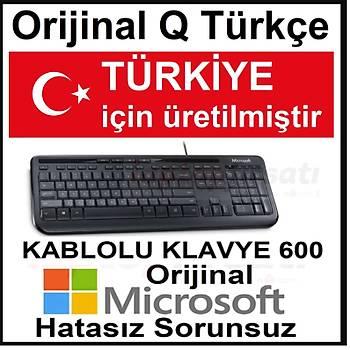 Microsoft Wired Desktop 600 ANB-00017 ORİJİNAL Q TÜRKÇE KLAVYE