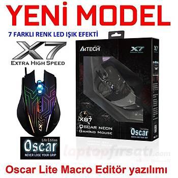 A4 Tech X87 Labirent Optik 2400DPI Oyuncu Mouse
