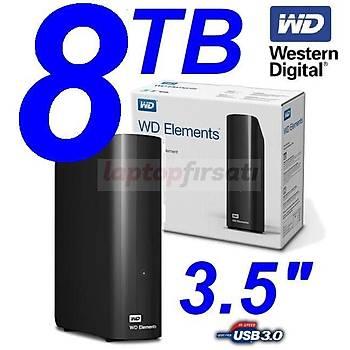 WD Elements 8TB 3.5