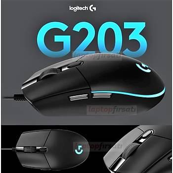 Logitech G203 Prodigy Kablolu RGB Mouse 910-004845