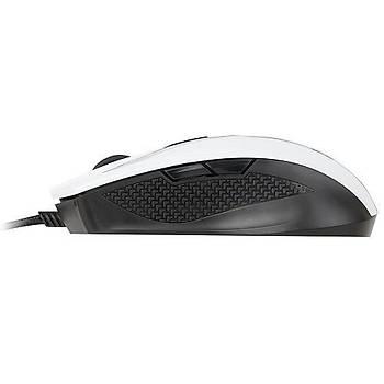 ????MSI Clutch GM40 5000DPI 9 Tuþ Optik Beyaz Gaming Mouse