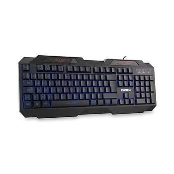 Everest Kb-115 Siyah Aydýnlatmalý Oyuncu Klavye