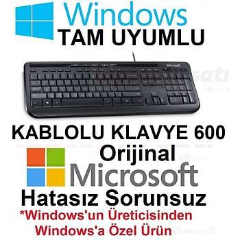 Microsoft Wired Desktop 600 ANB-00017 ORÝJÝNAL Q TÜRKÇE KLAVYE