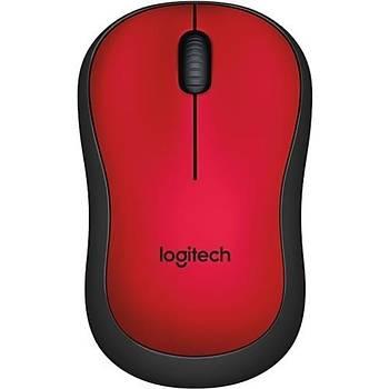 Logitech M220 Kablosuz Sessiz Týklama KIRMIZI MOUSE 910-004880